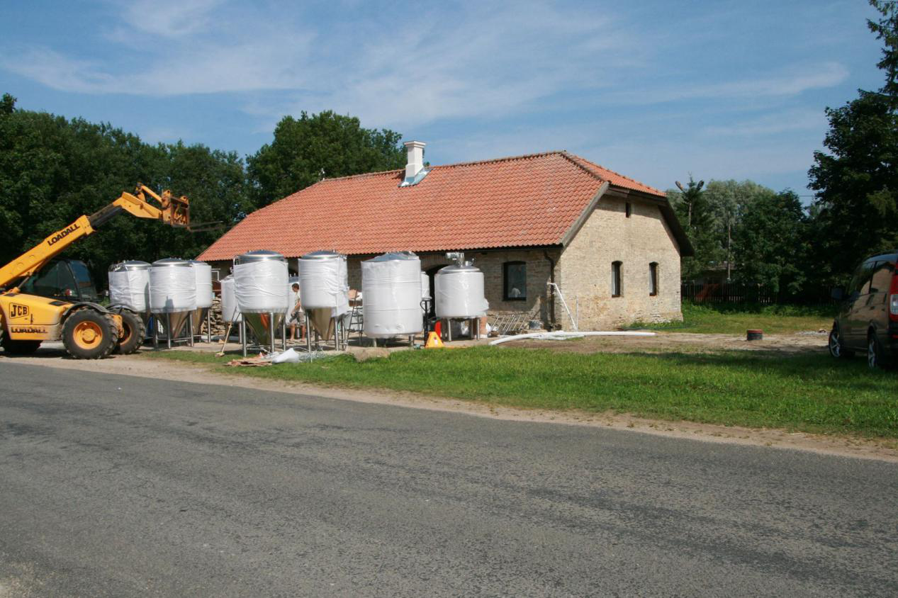 brewery system in europe
