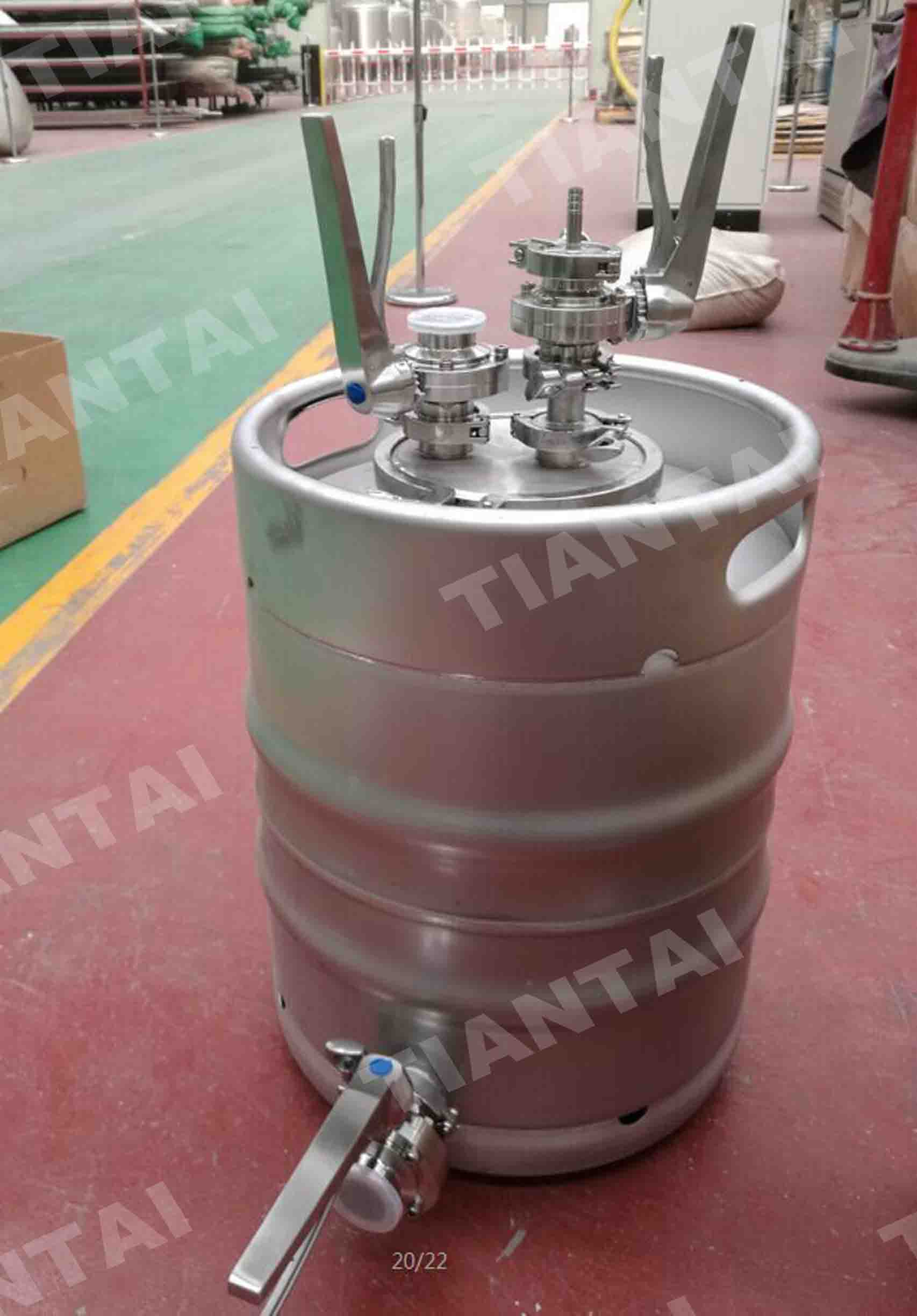 New design of the Yeast Feeder